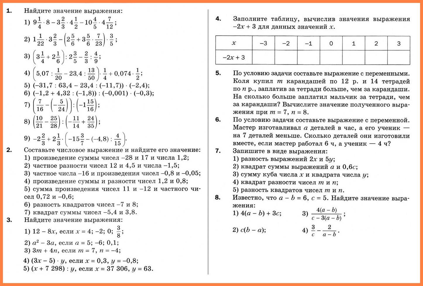 Введение в алгебру